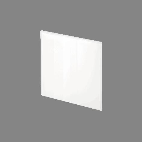 ADL Design Finitura Vetro Verniciato bianco neve lucido