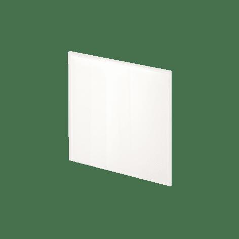 ADL Design Finitura Vetro Verniciato bianco puro lucido
