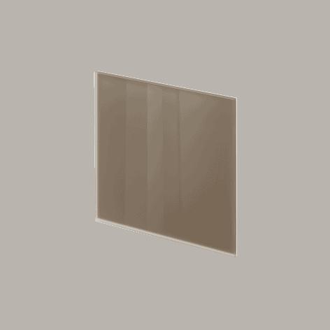 ADL Design Finitura Vetro Verniciato grigio beige lucido