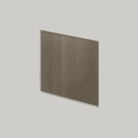 ADL Design Finitura Vetro Verniciato grigio quarzo lucido
