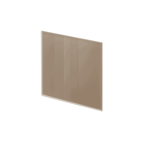 ADL Design Finitura Vetro Verniciato nocciola lucido